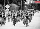 Picture for Tribute bike tour stops at Harry and Harriette Moore Memorial Park in Brevard