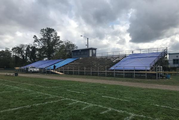 Picture for Salem football bleachers to stay mostly closed this season after fan fell through plank