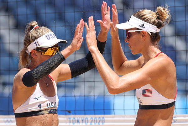 Picture for Olympic Beach Volleyball 2021: Team USA Beats Australia to Win Gold Medal