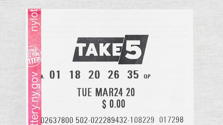 Cover for TAKE 5 Top-Prize $36K Winner Sold in New Windsor