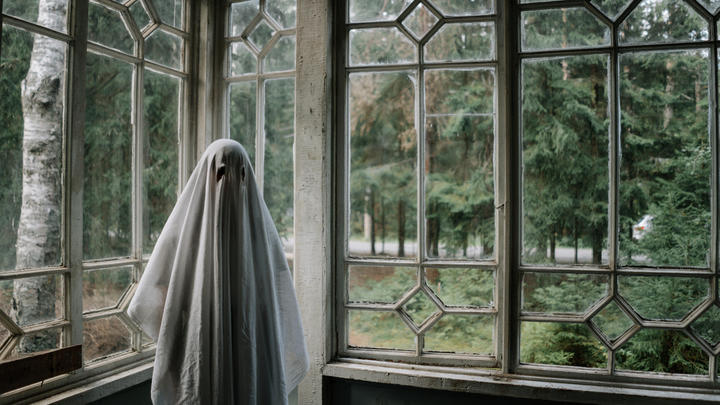 Cover for New Survey Finds One in Three People Would Live with a Friendly Ghost. Would You?