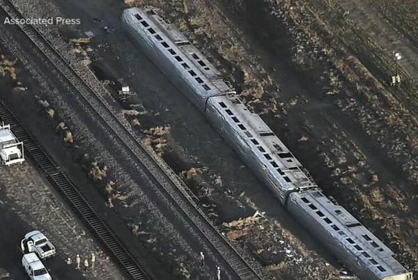 Picture for Amtrak derailment Montana: Train from Chicago was going under speed limit; 3 victims killed ID'd
