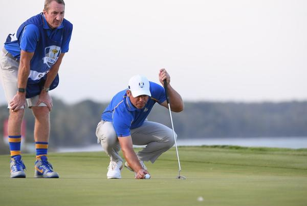"""Picture for John """"Johnny Long Socks"""" McLaren has caddied his last tournament in the United States after 31-year career"""