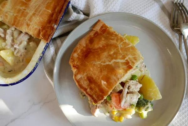 Picture for Old Fashioned Chicken Pot Pie Recipe
