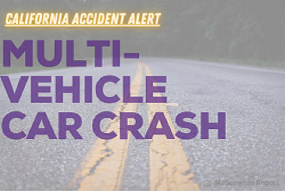 Picture for 1 dead and several injured after a multi-vehicle pile-up that shut down Interstate 580 (Oakland, CA)