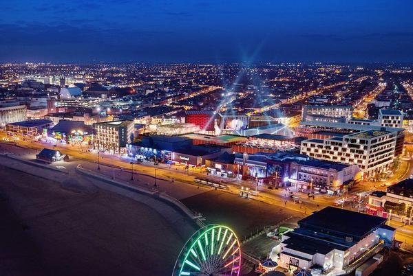 """Picture for Blackpool adding """"world-class"""" Merlin attraction to Golden Mile Centre"""