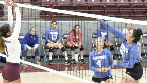 Lady Cats Fall To Cowgirls In Four Sets News Break