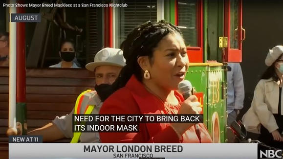 """Cover for San Francisco mayor justifies breaching own mask rule: """"My drink was sitting at the table"""""""