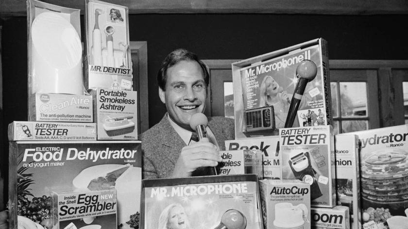 Picture for Ron Popeil, TV pitchman who hawked Veg-O-Matic, Mr. Microphone and more, dies