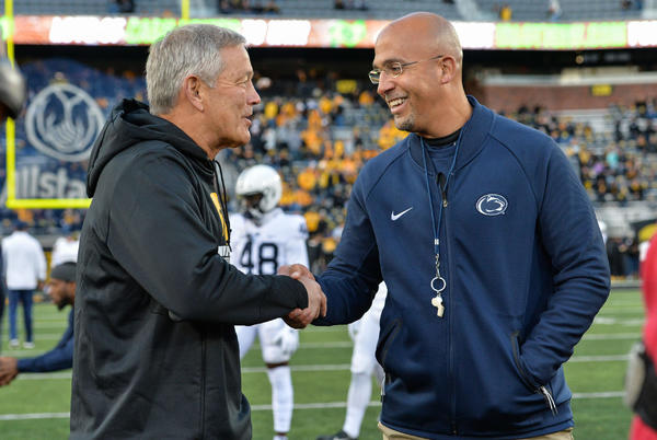 Picture for Kickoff time announced for Oct. 9 showdown between Penn State, Iowa