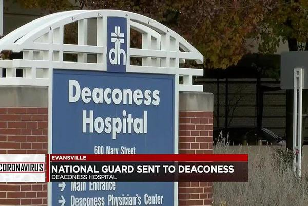 Picture for National Guard sends teams to Deaconess Midtown and Gateway Hospitals