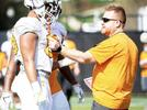 Picture for Tennessee's first-year coaching staff in its entirety