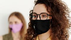 Cover for Riverside County courts will required public to wear masks starting Monday