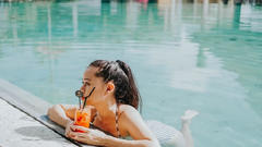 Cover for 3 cool hotel pools offering day passes in Orange County