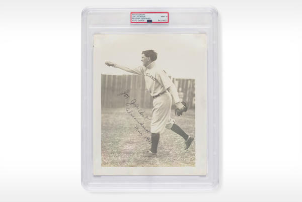 Picture for Autographed 1911 Photo of 'Shoeless' Joe Jackson Sells for $1.47 Million