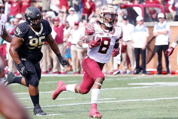 Picture for Ward shows out amongst 'Noles loss