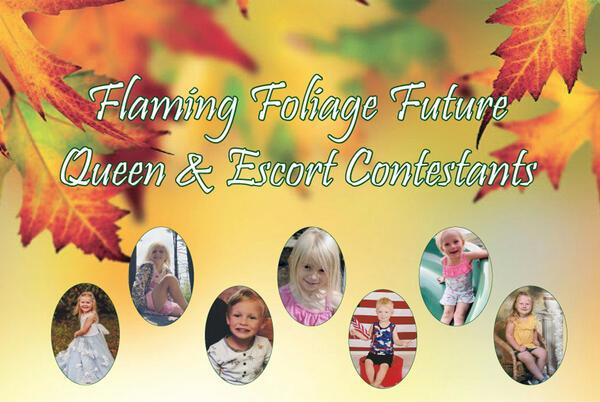 Picture for Flaming Foliage Future Queen & Escort Contest Underway