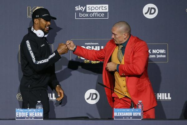 Picture for Biggest UK PPV costs EVER as fans fume over £24.95 bill for Joshua vs Usyk including Mayweather against Pacquiao