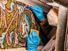 Picture for Golden mosaics restored in ancient Italian basilica where Dante and Machiavelli were baptised