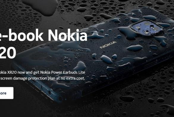Picture for Nokia XR20 pre-booking in India starts on October 20, Nokia C30 also tagging along