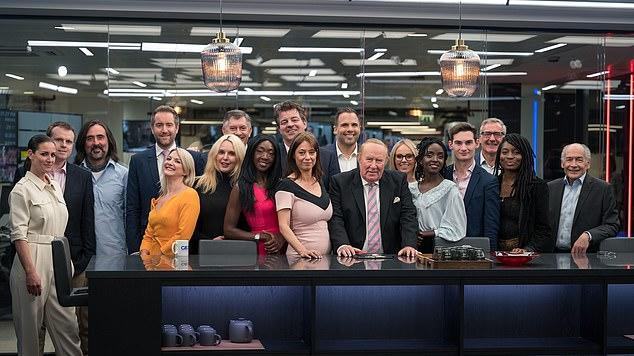 Picture for The who's who of GB News: Alastair Stewart, Kirsty Gallacher, Michelle Dewberry and MailOnline's Dan Wootton take to the air for the first time on Andrew Neil's new channel