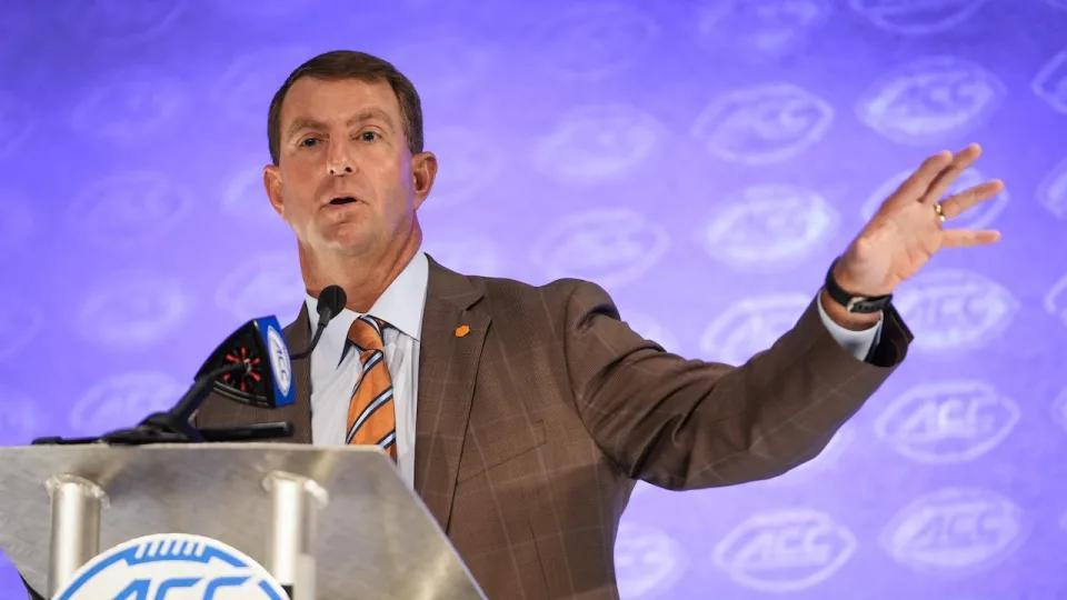 Picture for Clemson's Best Move During Expansion is to Sit, Watch, Listen