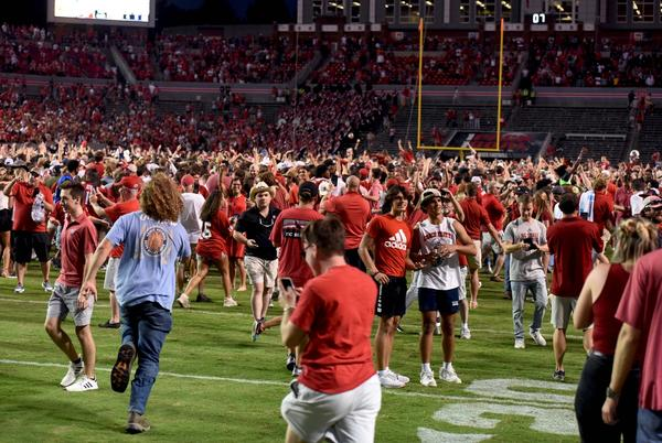Picture for NC State upsets No. 9 Clemson in double OT