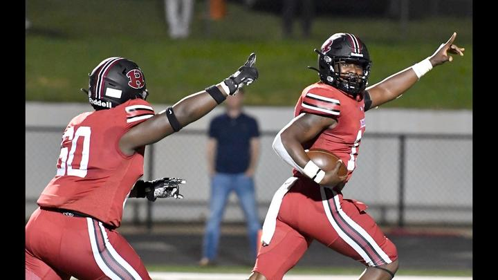 Cover for Middle Georgia football scores: Demons make a statement with a blowout win over Lee