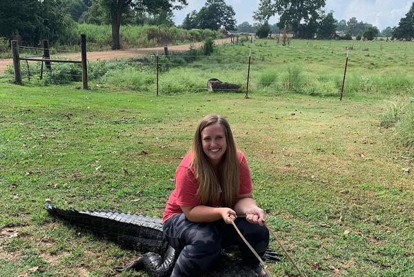 Picture for Arkansas Woman Snags Massive Alligator in Hope