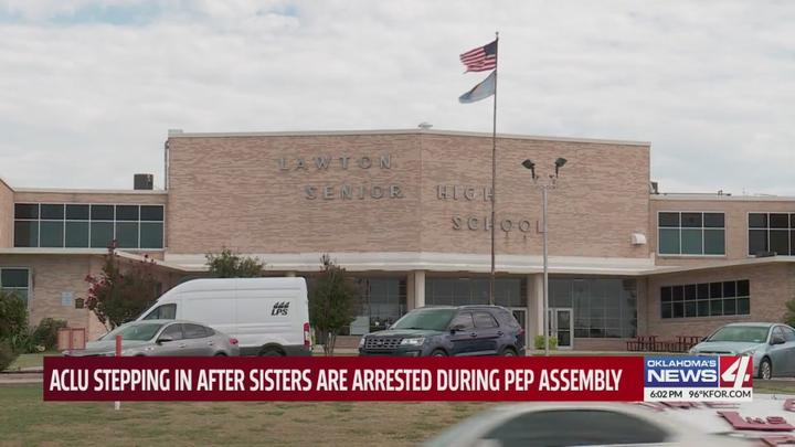 Cover for Confrontation leads to arrest of Oklahoma students; girls claim incident started with the National Anthem