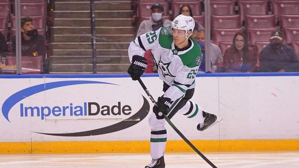 Picture for Dallas Stars' Joel Kiviranta signs two-year contract extension