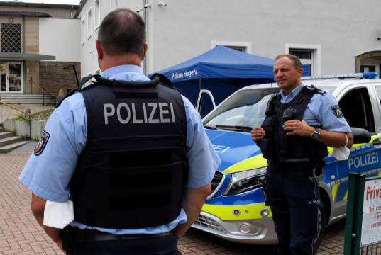 Picture for Jews in Hagen, Germany Look to 'Fly Flag Against Terror' in Sukkot Celebrations After Foiled Yom Kippur Plot