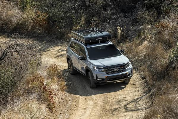 Picture for 2022 Honda Passport TrailSport Rugged Roads Project