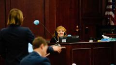 Cover for Mother of man killed in Colorado hammer attack testifies