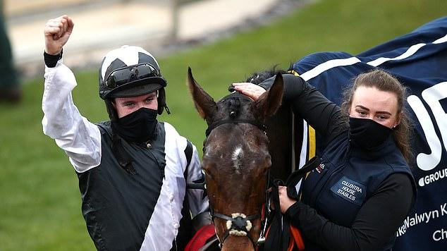 Picture for Favourite Mount Ida surges from the back to win the Kim Muir Challenge Cup and give stand-in trainer Denise Foster a third Cheltenham Festival winner, just a week on from taking over from disgraced Gordon Elliott