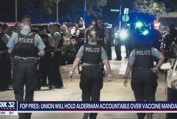 Picture for Chicago Fraternal Order of Police prez: Union will hold aldermen 'accountable' over vaccine mandate