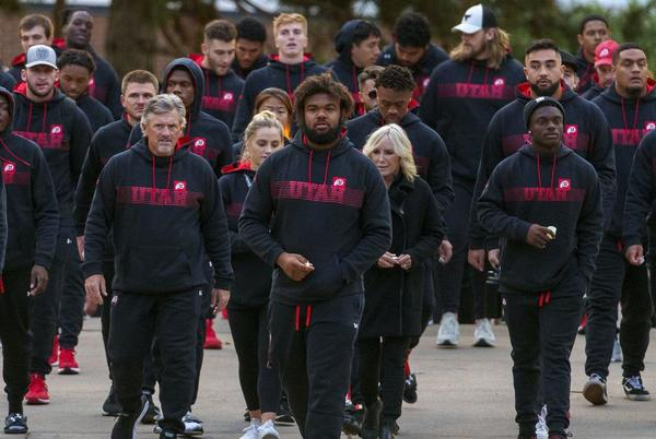 Picture for How Utah football players are grieving Ty Jordan and Aaron Lowe, and what mental health experts say about the process