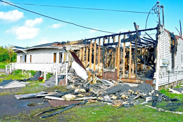 Picture for Granby fire tears through multi-family home