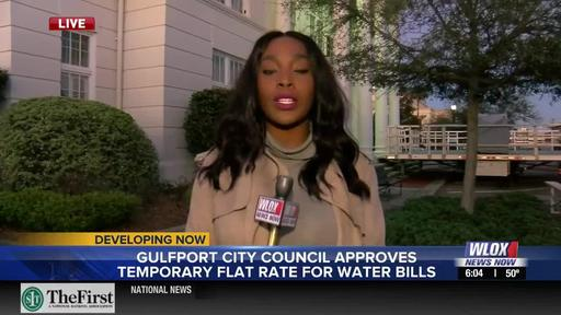 Live Report Gulfport Sets Temporary Flat Rate For Water Bills News Break