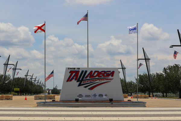 Picture for NASCAR at Talladega live race updates, results, highlights from the Geico 500