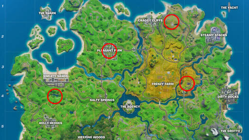 Fortnite Safe House Locations Where To Find Shadow Safe Houses Week 2 Challenge News Break
