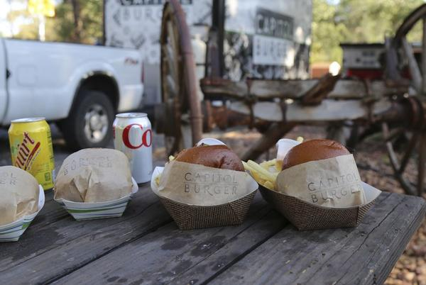 Picture for One of Utah's Best burgers is at a food truck in Torrey