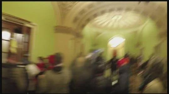 Cover for Accused Nebraska man awaits October hearing on Capitol riot