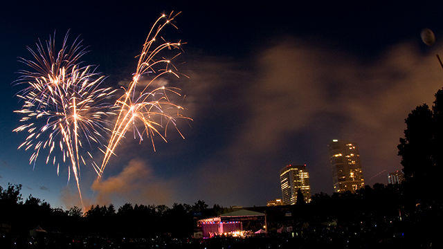 Picture for 4th of July fireworks return to Bellevue