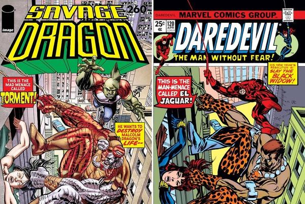 Picture for Erik Larsen Talks Savage Dragon #260, That Daredevil Homage, and Paul Dragon's Latest Development
