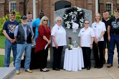 Picture for VFW Post 8904 Observes POW/MIA Recognition Day; Judge Harbison Places Wreath
