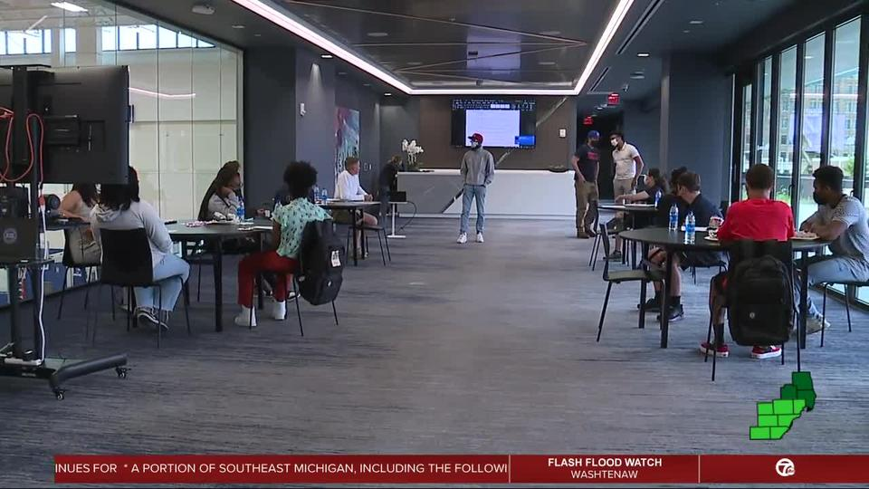 Picture for Detroit Pistons Youth Council aims to reach younger fans off the court