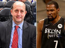 Picture for Jeff Van Gundy still sees way for Kevin Durant to push Nets by Bucks