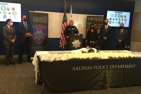 Picture for $1.8 million in drugs seized in multi-agency drug trafficking operation