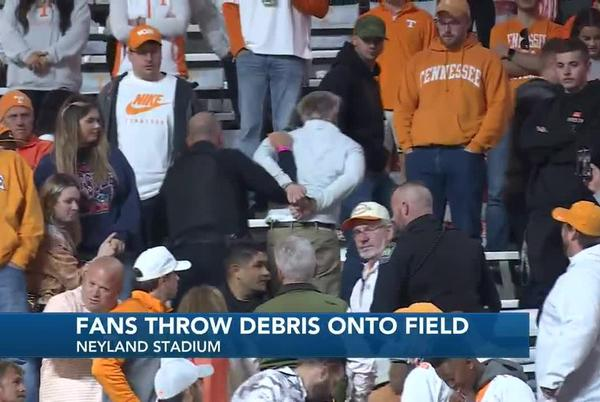 Picture for Vol fans react to chaotic ending of Saturday night's game